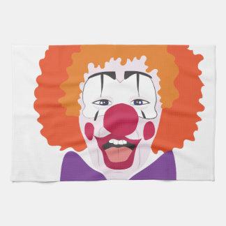 Clown Head Kitchen Towels