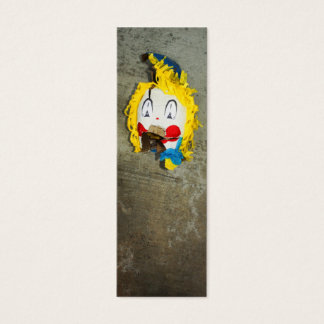 Clown Head Mini Business Card