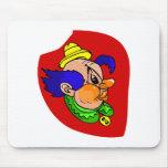 Clown Head Profile Mousepad