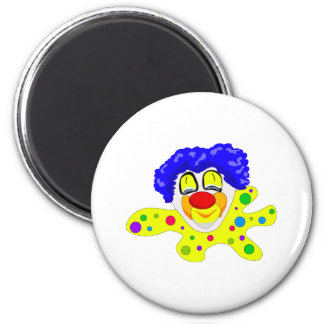 Clown Head Silly Refrigerator Magnet
