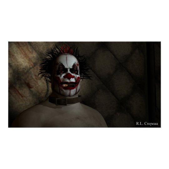 Clown in a Padded Cell Poster
