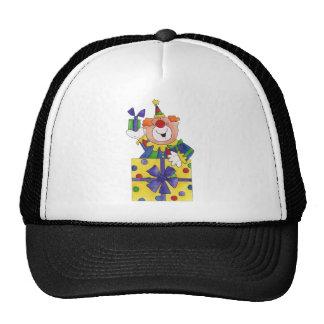Clown in a Present Mesh Hats