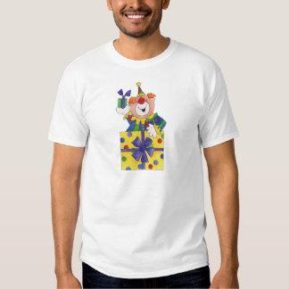 Clown in a Present T-shirt
