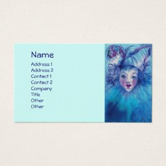 CLOWN IN BLUE BUSINESS CARD