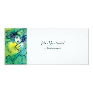 CLOWN IN GREEN CARD