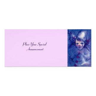 CLOWN IN PURPLE CARD