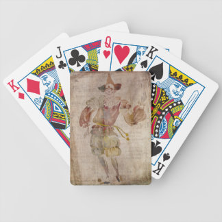 Clown in the Mirror Bicycle Playing Cards