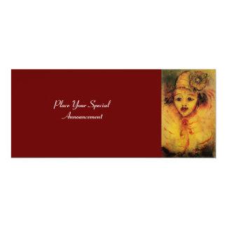 CLOWN IN YELLOW CARD