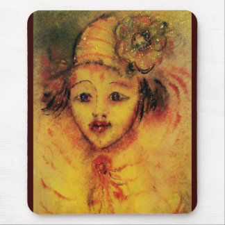 CLOWN IN YELLOW MOUSE PAD