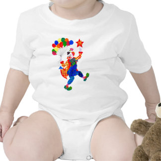 'Clown' infant one-piece outfit T-shirt