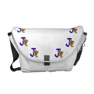 Clown J.png Messenger Bag