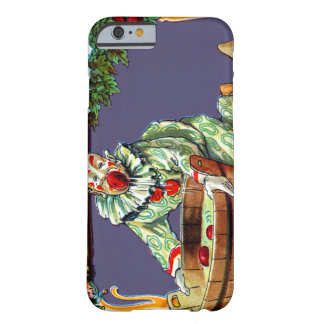Clown Jester Bobbing For Apples Barely There iPhone 6 Case