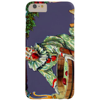 Clown Jester Bobbing For Apples Barely There iPhone 6 Plus Case