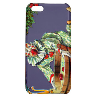 Clown Jester Bobbing For Apples Cover For iPhone 5C