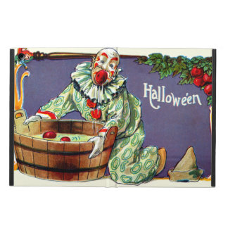 Clown Jester Bobbing For Apples iPad Air Cover