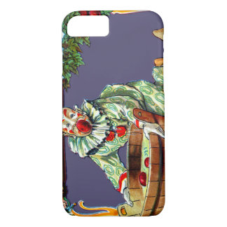 Clown Jester Bobbing For Apples iPhone 8/7 Case