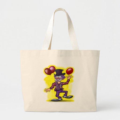 Clown Jumbo Tote Bag