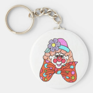 clown key chain
