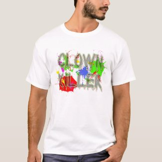 CLown Killer Funny Shirt Humor