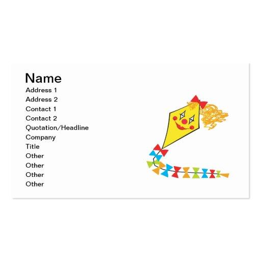 Clown Kite Business Card