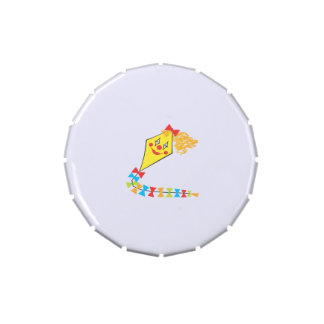 Clown Kite Jelly Belly Candy Tins