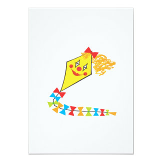 Clown Kite Card