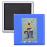 Clown Laughing Magnet