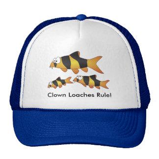 Clown loaches rule! - cool fish cap trucker hat