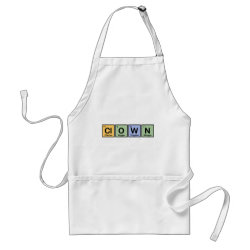 Apron with Clown design
