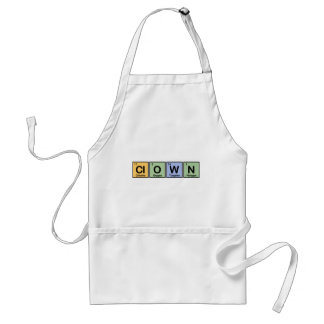 Clown made of Elements Aprons