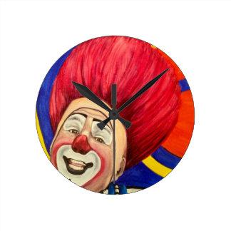 Clown Mark Carfora Clock