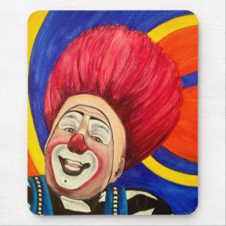 Clown Mark Carfora Mouse Pad