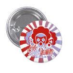 Clown Mascot Buttons