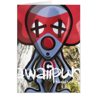 Clown Mascot Card