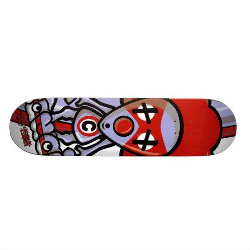 Clown Mascot Custom Skateboard