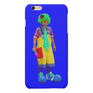 clown matte iPhone 6 plus case