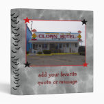 Clown Motel Binder