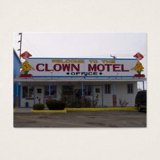 Clown Motel Business Card