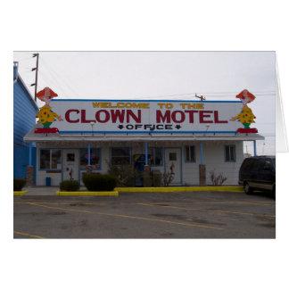 Clown Motel Cards