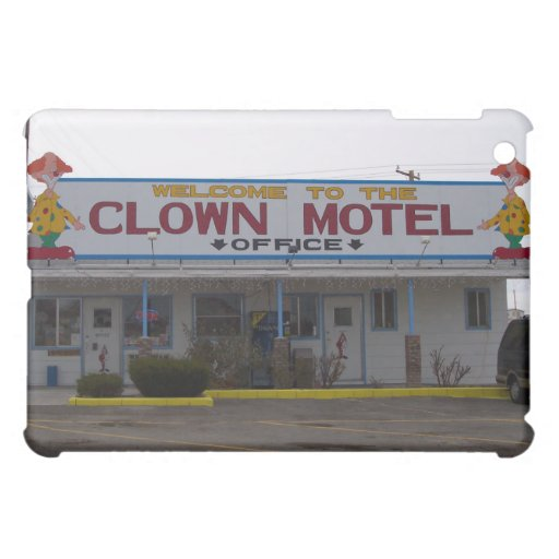 Clown Motel Cover For The iPad Mini