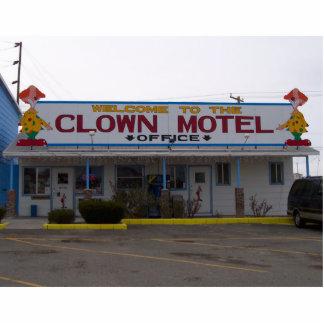 Clown Motel Cutout