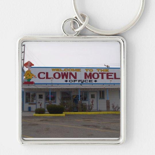 Clown Motel Keychain