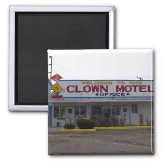 Clown Motel Magnet