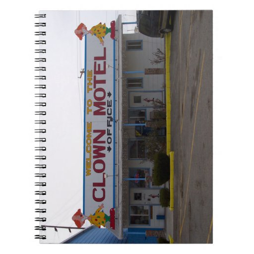 Clown Motel Notebooks