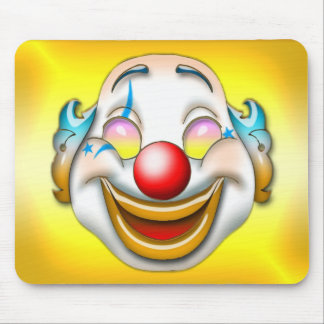 clown mouse mat