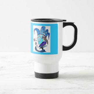 Clown 15 Oz Stainless Steel Travel Mug