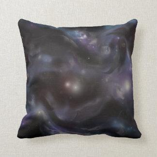 Clown Nebula Throw Pillow