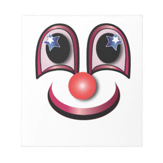 Clown Note Pads