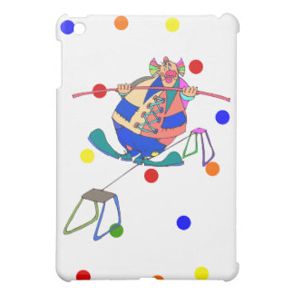 Clown on highwire iPad mini cover