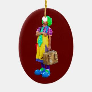 clown christmas ornament